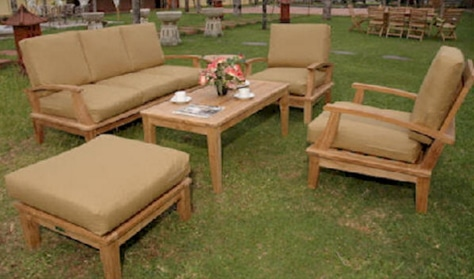 Teak Wood Casual Living Patio Furniture - Outdoor Room Ideas on Casual Living Patio id=38183