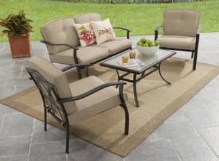 metal outdoor patio sets