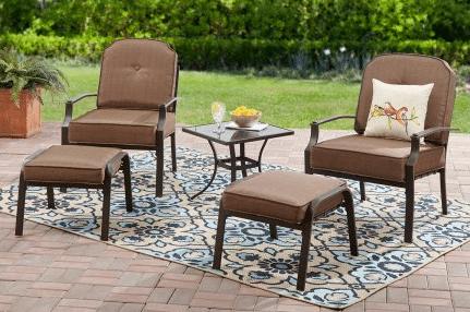 6 leisure garden patio furniture sets