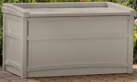 Outdoor Deck Storage With Bench 50 Gal Outdoor Room Ideas