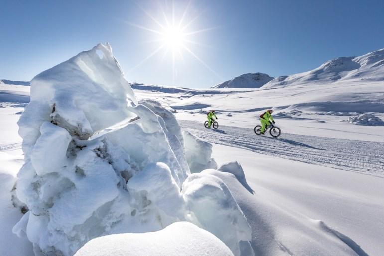 Mountainbike-Tour auf Eis und Schnee - Mit dem Fatbike durch Grönland