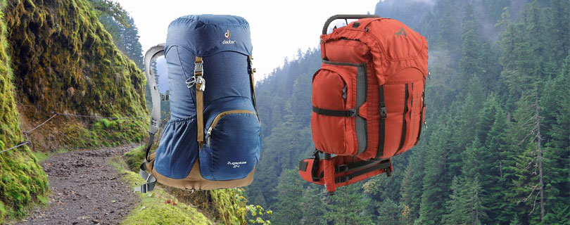 fd7ceaf7f166 Internal Vs External Frame Backpack. Which Backpack To Choose Internal Or  External
