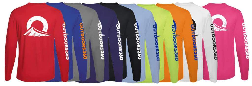 Outdoors360 shirts