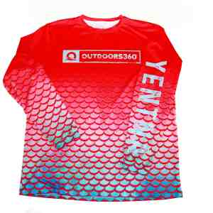 Outdoors360 Long Sleeve Sportswear with SPF protection and rapid dry technology