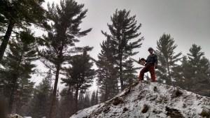 Chainsaw Winter Minnesota