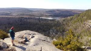 Superior Hiking Overlook With Ben