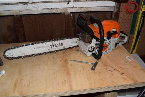 "Sthil 362 with 20"" Bar - Cleaning Your Chainsaw"