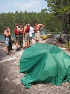 Trail Sauna on the Lake