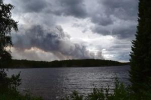 Wildfire Smoke in Atakaki Wilderness