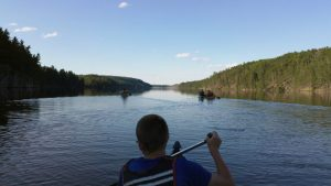Quetico Morning Paddle