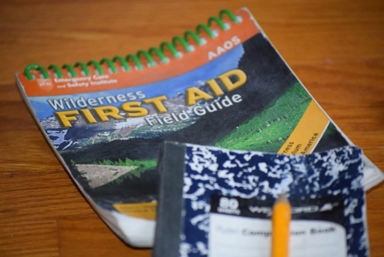 Field Manual - Wilderness First Aid Kit