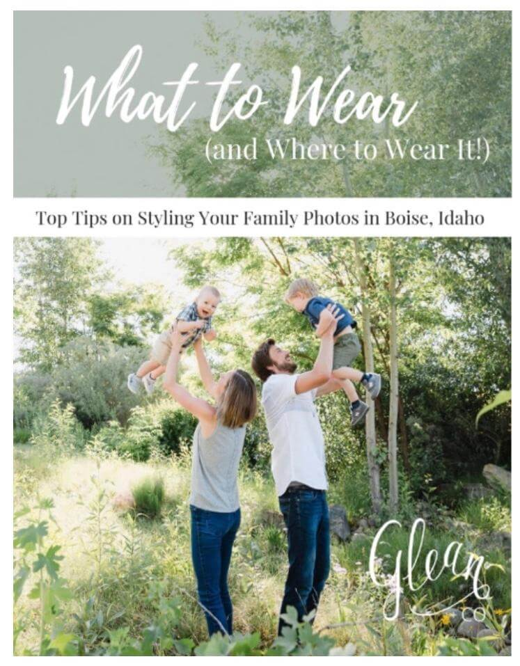 styling guide glean + co