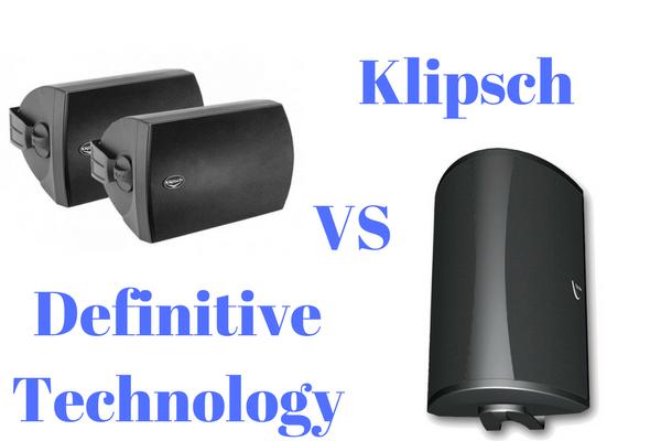 definitive outdoor speakers. definitive technology vs klipsch outdoor speakers   speaker supply