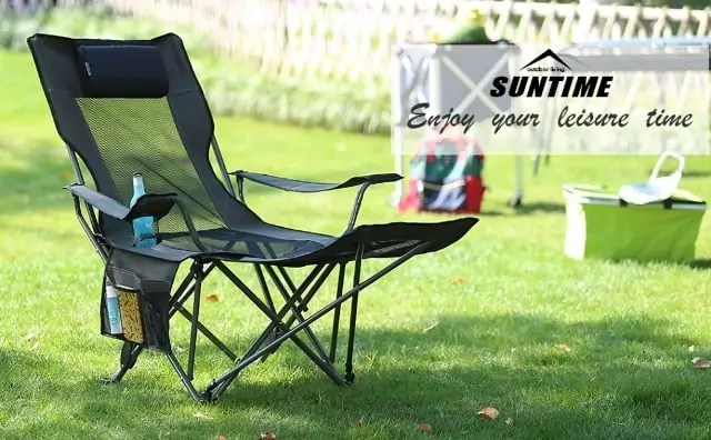 Outdoor Living Suntime Folding Portable Mesh Chair Review ... on Suntime Outdoor Living  id=81108