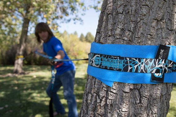 slackline tree protection diy