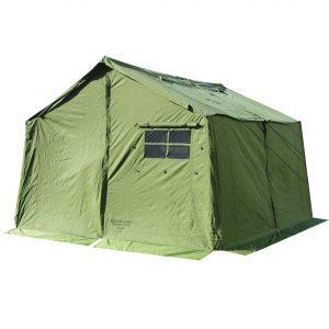 Big green tent