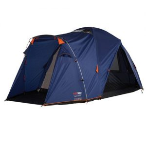 Remember to get a bigger tent than they tell you. This 4 person tent would be ok for 2 or 3 people.