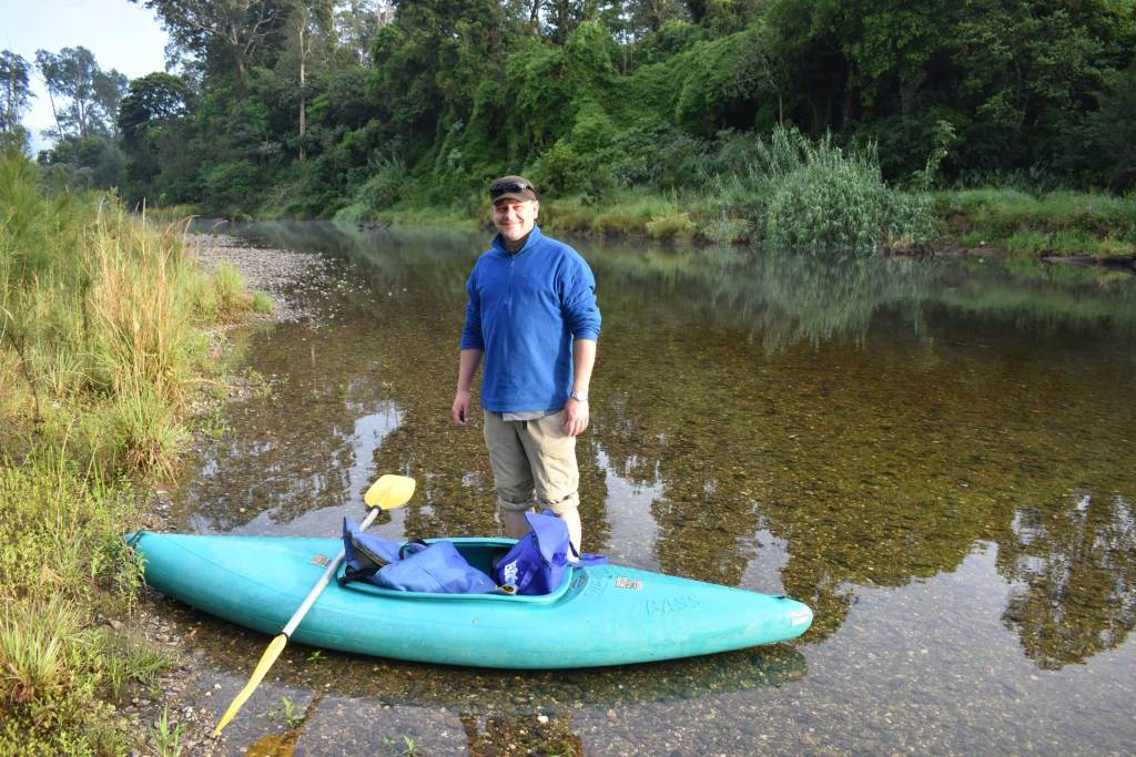 Canoe adventures on the Bellinger river.