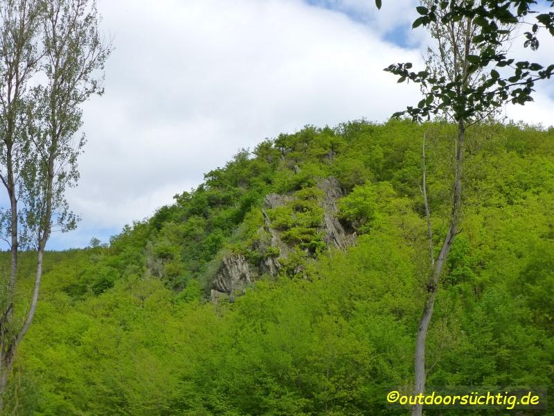 Diese Felsformation gab dem Wanderweg seinen Namen