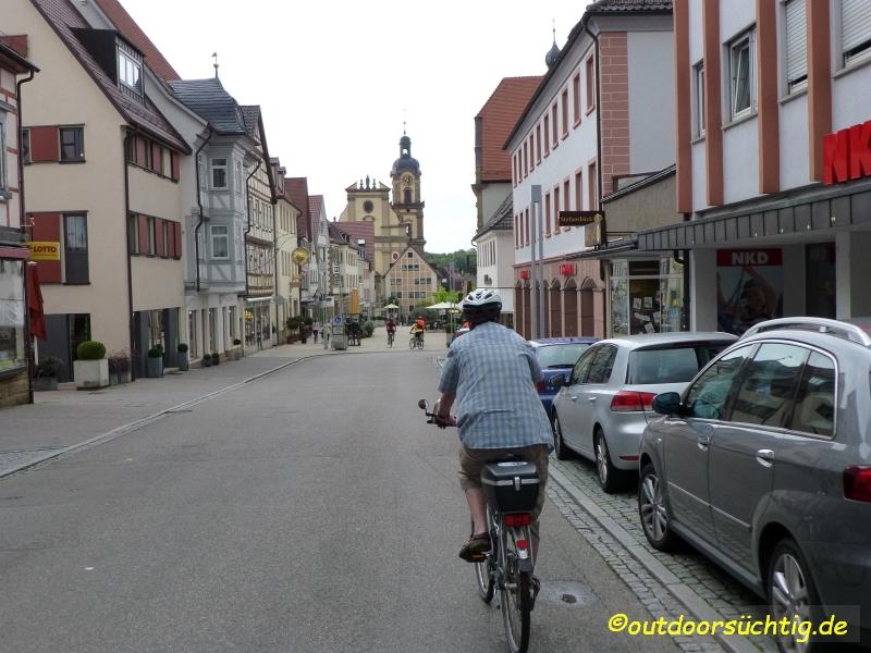 4-Täler-Tour - Hier geht es durch Neckarsulm
