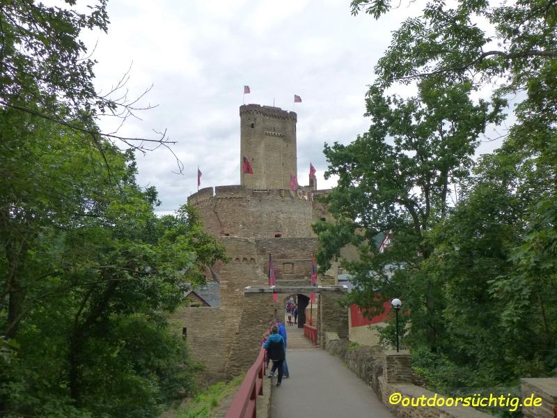 Die Ehrenburg - Namensgeberin der Tour