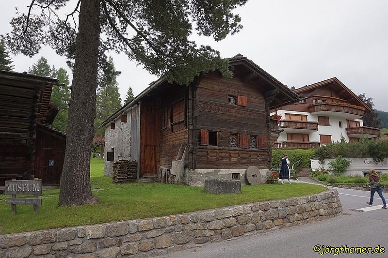 Erlebte Geschichte - das Nutli Hüschi in Klosters