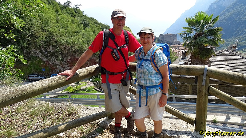 Wandern von Meran an den Gardasee