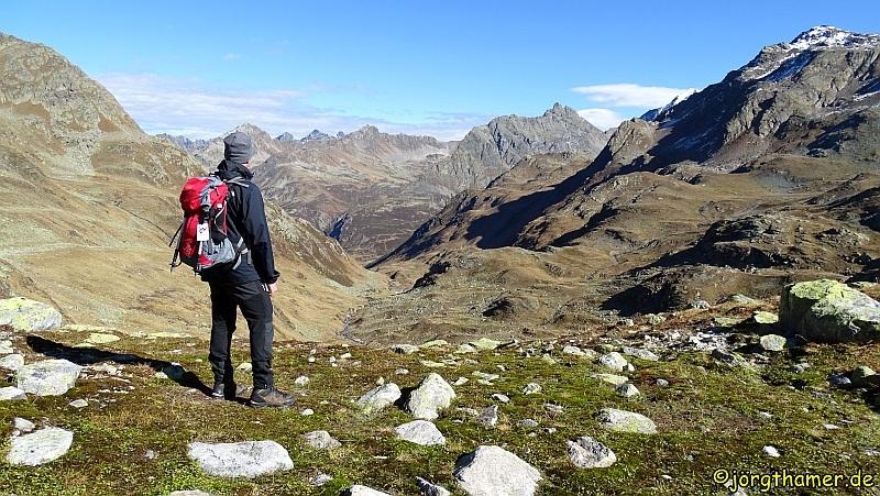 Wanderung zu den Jöriseen