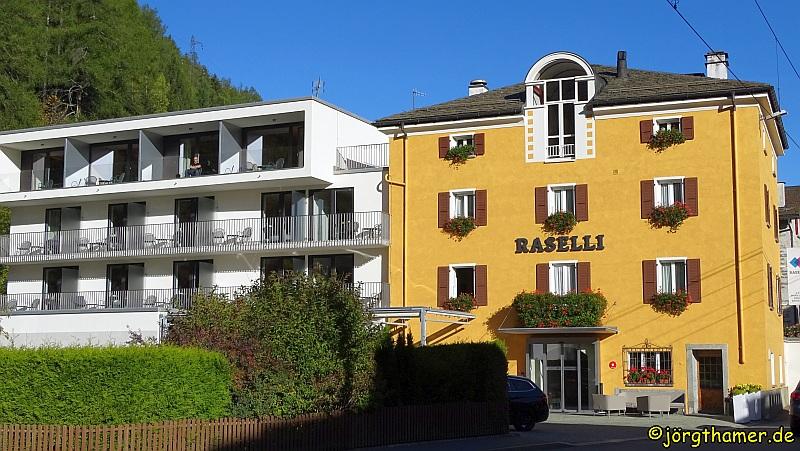 Das Raselli Sport Hotel in Le Prese