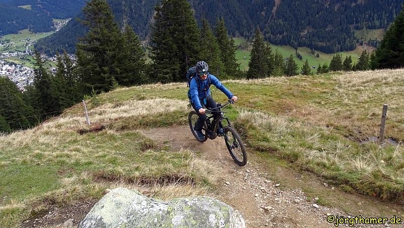 Biketour Davos - mit der Bike Academy zur Stafelalp