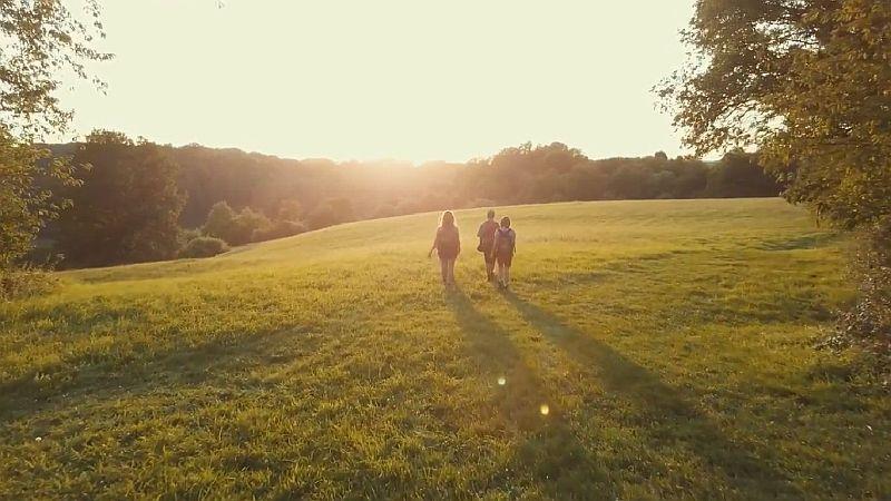 Hessen überrascht - Sonnenuntergang an der Lahn