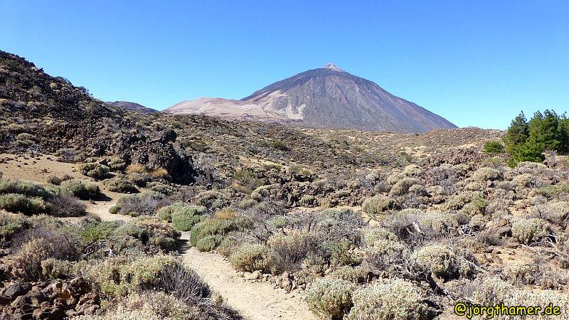 Wandern auf Teneriffa - Teide