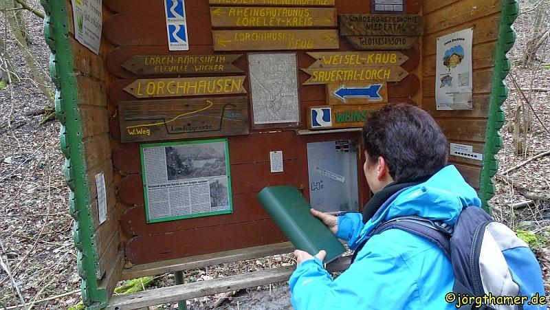 Rheinsteig - Grenzvogt