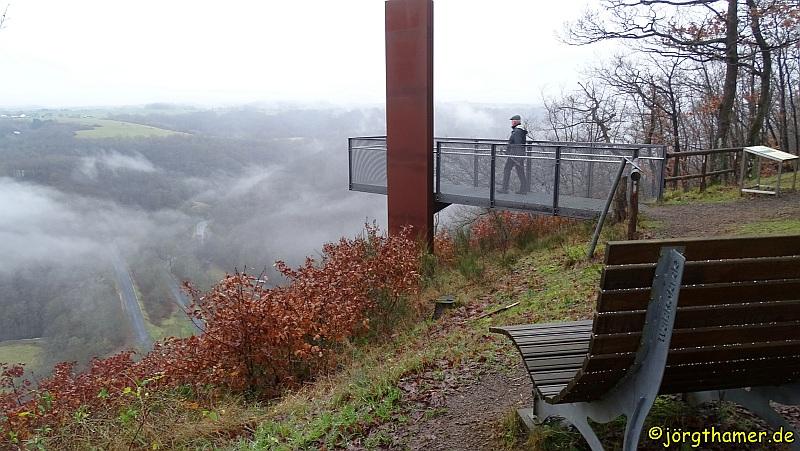Wandern in der Vulkaneifel - Skywalk Achterhöhe