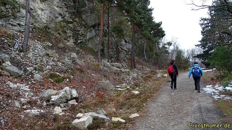 Wandern Rheinsteig - Teufelskadrich