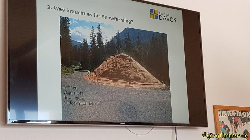 Langlauf in Davos - Snowfarming