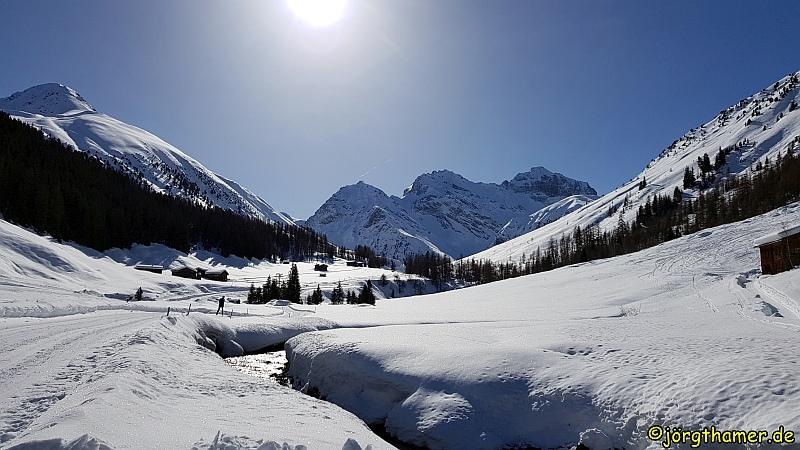 Langlauf in Davos - Sertig Dörfli