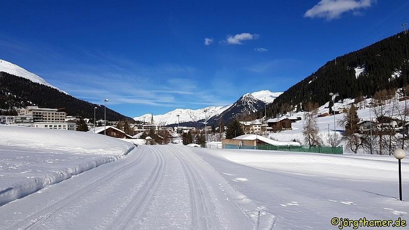 Langlauf in Davos - Frauenkirch