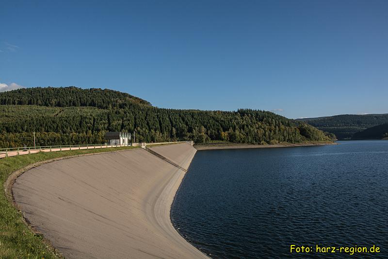 Ausflugsziele im Harz - Granetalsperre