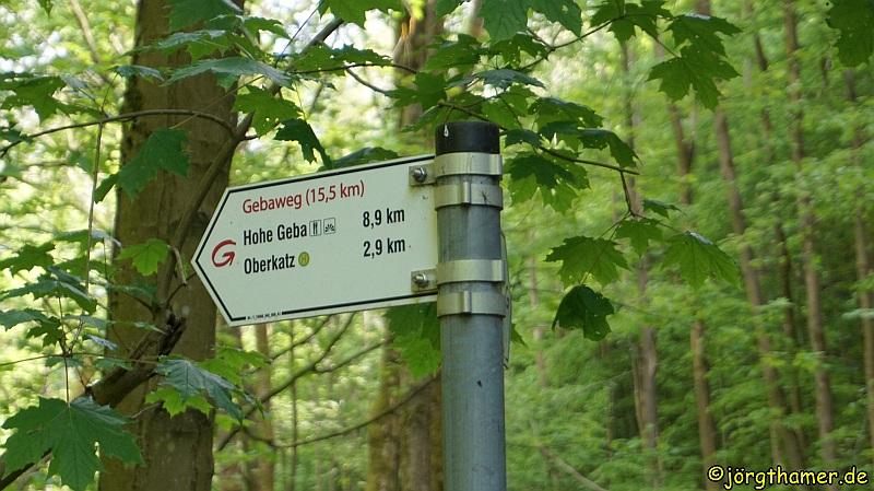 Extratour Gebaweg - Wegweiser