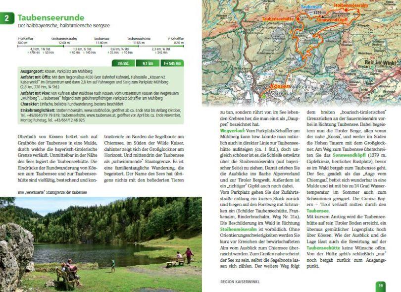 Das Tiroler Vier-Jahreszeiten Wanderbuch - Tourbeschreibung