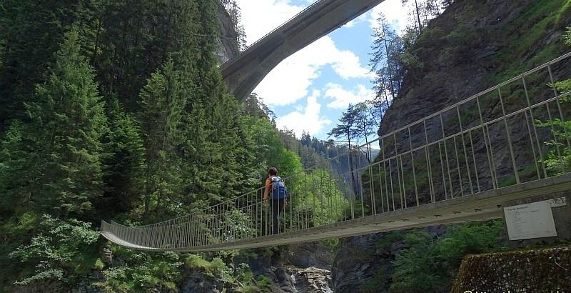 Suransunsbrücke auf der Via Spluga