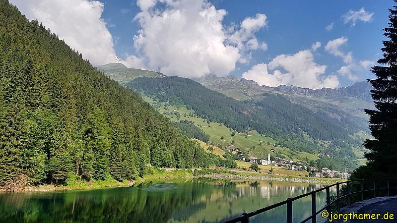 Via Spluga Etappe 4 - Lago di Isola