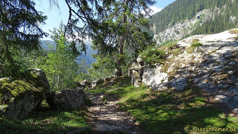 Via Spluga - Schalensteine