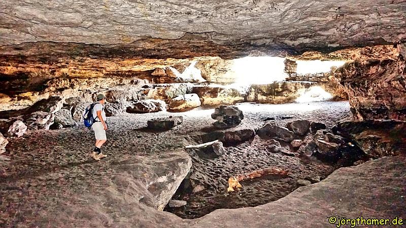 Malerweg - Höhle am Kleinhennersdorfer Stein