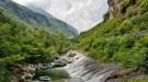 Wandern auf der Via Spluga - Val San Giacomo