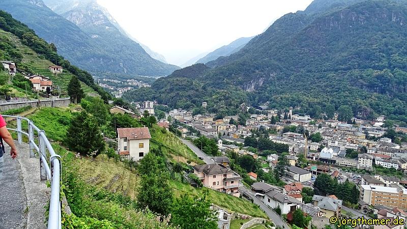 Wandern auf der Via Spluga Etappe 4