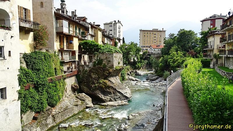 Via Spluga Etappenort Chiavenna