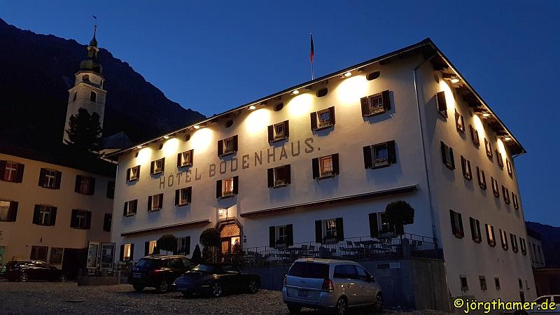 Via Spluga - Bodenhaus