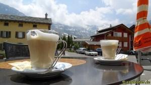 Cappuccino in Montespluga